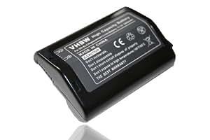 Batteria Li-Ion adatta per NIKON D2H, D2Hs, D2X, D2Xs, F6, 2000mAh D3, D3X sostituisce EN-EL4, EN-EL4a 11,1 V