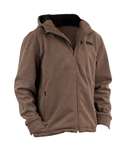 Fox Chunk Wind Shield Hooded Jacket Hoody Jacke braun , Größe:XL