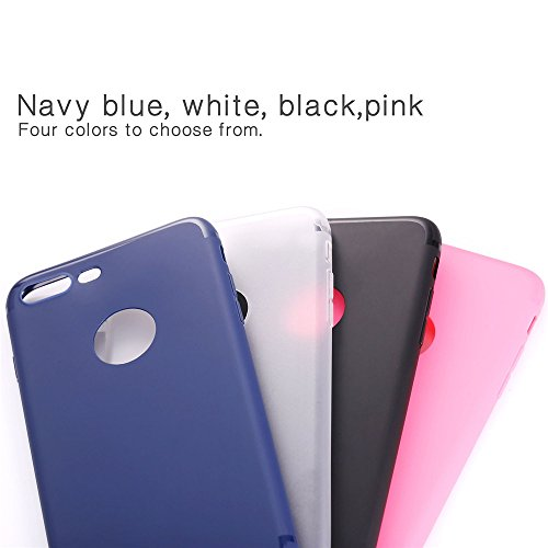 iPhone 7 Plus Custodia, Bandmax iPhone 7 Plus Hot Pink High Quality Comfortable TPU Cover Shock/Scratch Resistant Protective Bumper Case for iPhone 7 Plus (Pink) Blu
