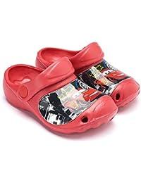 Sabots en plastique enfant garçon Disney Cars Rouge du 24 au 31