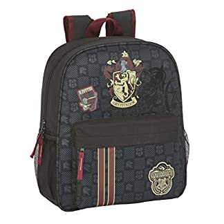 41SrxnnoxYL. SS324  - Safta - Mochila Escolar Junior de Harry Potter Oficial Gryffindor Adaptable a Carro
