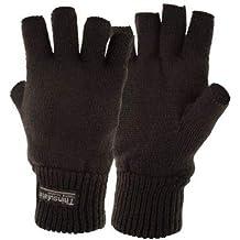 Highlander Stayner - Guantes cortos térmicos negro negro Talla:mediano