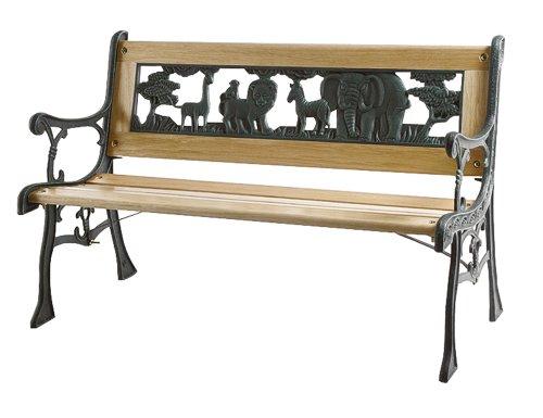 siena-garden-598843-kinder-gussbank-mit-zoo-ornament-im-rucken-b-82-x-h-41-cm