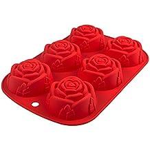 flower205 Weihnachten Elk Rehkopf Kuchen-Form Foods aus Silikon-Schokoladen-Form Küchenzubehör für Schokolade//Fondant//etc Silikonform