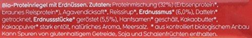 Veganz Bio Protein Bar Sweet Peanut, 6er Pack (6 x 45 g) - 4