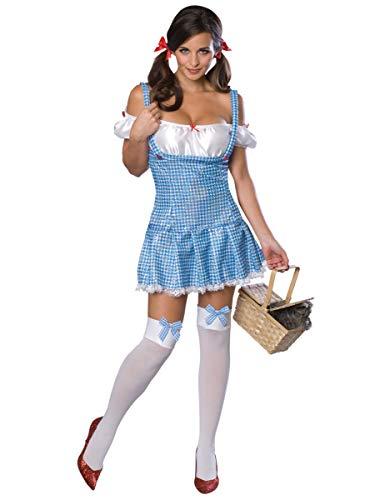 Garland Kostüm Judy - Rubie's Dorothy Gale-Kostüm von der Zauber von Oz blau-Weiss M