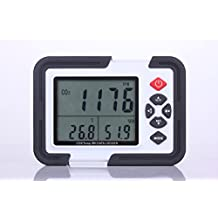 Perfect-Prime CO2000 Carbon Dioxide (CO2) Air Temperature & Humidity Data Logger Meter & Monitor with LCD Display & USB Data Transfer to PC for Data Analysis & Storage