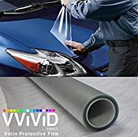 300\\ X 54\\ (Bulk Roll) Vvivid Clear Protective Satin Finish Vinyl Wrap Guard Film Sheet (300