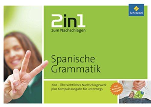 Preisvergleich Produktbild 2in1 zum Nachschlagen: Spanische Grammatik