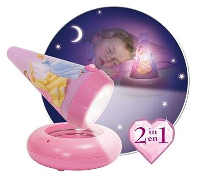 """Worlds Apart 58EDS01 - Batteriebetriebene Nacht- und Taschenlampe """"Disney Princess"""" von Worlds Apart Ltd. auf Lampenhans.de"""