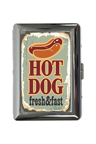 LEotiE SINCE 2004 Zigarettenetui Box Küche Hot Dog Bedruckt - Hot-dog-box
