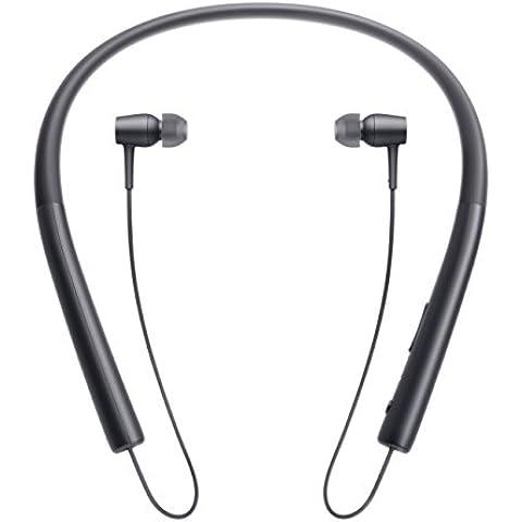 Sony MDREX750BTB - Auriculares in-ear inalámbricos (con audio de alta resolución, Bluetooth con NFC y LDAC), color negro