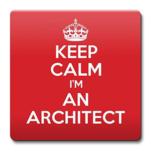 Keep Calm I 'm Architekten Untersetzer Kaffee Tasse Geschenkidee Geschenk Arbeitsplätze -