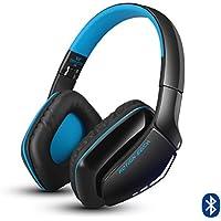 KOTION EACH Auriculares Bluetooth Wireless Headset B3506 Plegable Gaming Headset v4.1 con Microfono para