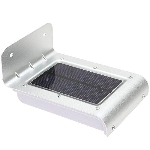 TOOGOO(R) 16 LED Lampe/Lumiere d'Energie Solaire Detecteur Sonore Mouvement lampes a economie d'energie Jardin Couloir Cour En Plein Air eclairage