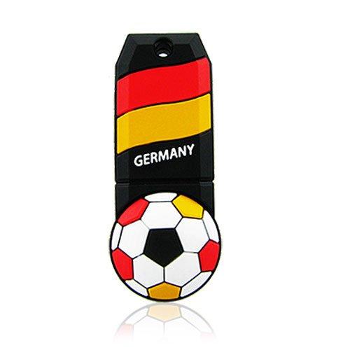 Hi-Speed 2.0 USB-Sticks 16GB Cool Fußball Deutschland ()