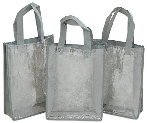 schen, inklusive Sichtfenster für Bilder im DIN A4 Format, individuell gestaltbar, Tragetasche, Faserstofftasche, grau (Lehrer-einkaufstaschen Mit Taschen)