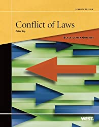 Black Letter Outline on Conflict of Laws, 7th