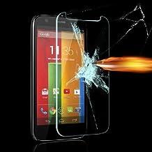 TUMOVIL_3.0® Protector pantalla cristal antigolpe templado vidrio Premium para Motorola Moto G