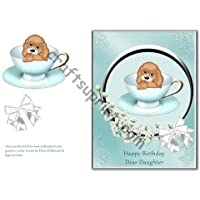 Puppy in Teacup–Daughter by Lorna Quinney