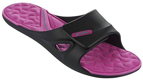 Rider Daytona II Fem Sandalen Black Pink