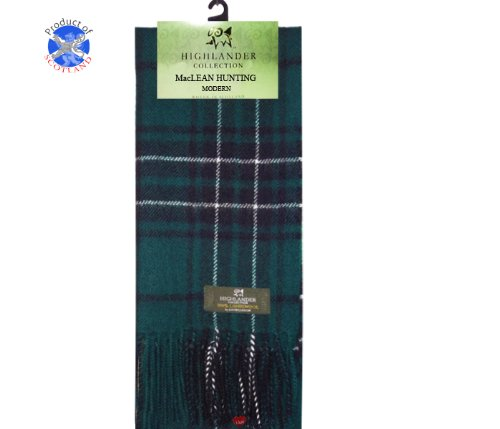 maclean-hunting-tartan-scarf-modern-lambswool