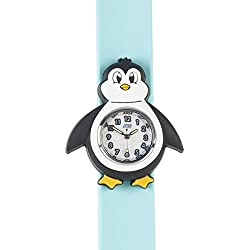 kids Watch-3D animals-Multi colour-Easy to read clock-Fashion watches-Time teaching-Children Boys Girls-Splash resistant-Easy snap-on wrist watches-Perfect birthday gifts Christmas gift