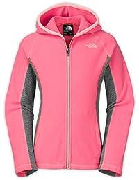 North Face G GLACIER FULL ZIP HOODIE (RECYCLED) - Sudadera, color rosa, talla XL