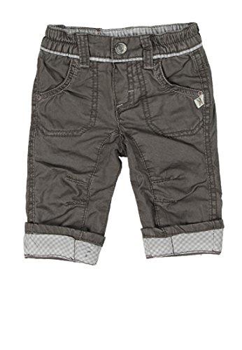 Kanz Baby - Jungen Hose, Einfarbig, Gr. 56, Grau (Steel Gray Gray 1700)