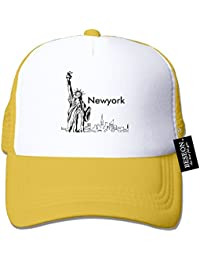 f86e6bb2357 BESEON New York City Silhouette Mesh Adjustable Snapback Hat Trucker Cap