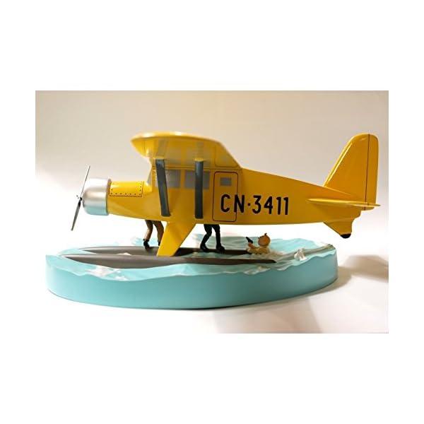 Maqueta de colección Tintín El Hidroavión CN-3411 40027 (2011) 4