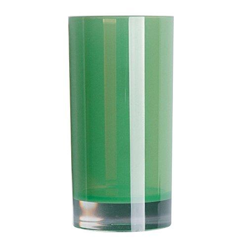 Excèlsa EX46888 Verre à Dents Polystyrol, Vert, 6,3 x 6,3 x 13 cm