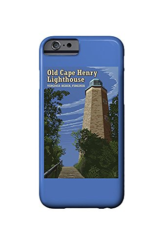 Cape Henry Lighthouse (Virginia Beach, Virginia - Old Cape Henry Lighthouse (iPhone 6 Cell Phone Case, Slim Barely There))