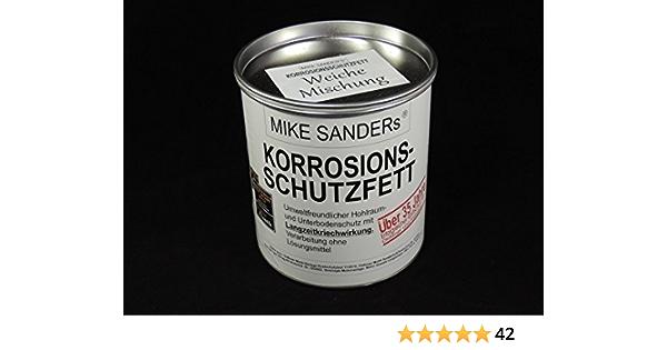 Mike Sanders Korrosionsschutzfett Weiche Mischung 750g Dose Auto