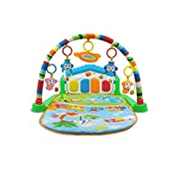 Supernoor Musical Play Mat Multicolour Play Gym Mat Toy Baby Piano Fitness Playmat