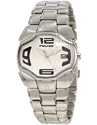 Police Femme PL-12896BS/04M Angel Silver Dial Stainless Steel Date Montre