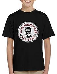 Arnold Schwarzenegger All Star Converse Logo Kid's T-Shirt