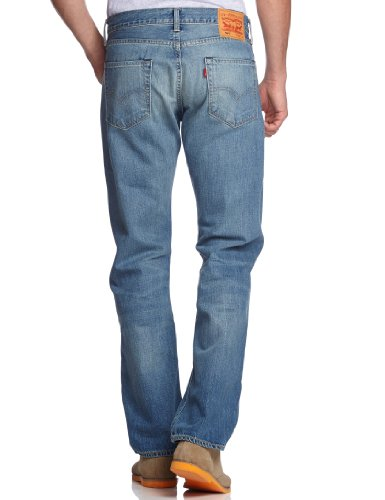 Levi's Herren Jeans 504 Regular Straight Fit Blau (FIT SKY IS THE LIM)