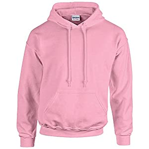 Gildan Heavy Blend Erwachsenen Kapuzen-Sweatshirt 18500 Light Pink, S
