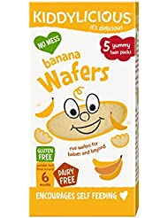 Kiddylicious Banana Mini Wafers, 20 g