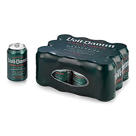 Voll Damm Cerveza Paquete de 12 x 330 ml Total 3960 ml