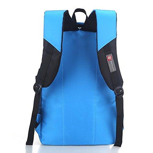 LF&F Backpack Panno Impermeabile Oxford Alta Qualità Scuola Primaria Leggero Zaino Unisex Per Lo Svago Esterno Sport Multiuso Viaggio Campeggio Borsa Viaggio Per Picnic Vento Da Collegio D