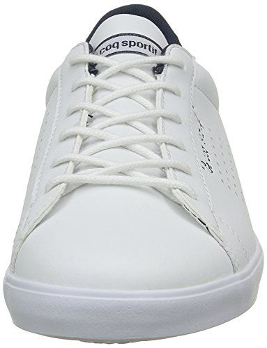 Le Coq Sportif Agate Lo Feminine, Scarpe da Ginnastica Basse Donna Bianco (Optical White/Dress)
