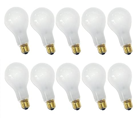 10 x Glühbirne 200W E27 MATT Glühlampe 200 Watt Glühbirnen Glühlampen stoßfest