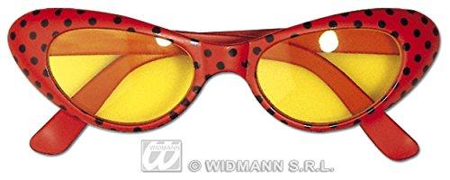 disco-sonnenbrille-in-rot-mit-schwarzen-punkten-oval
