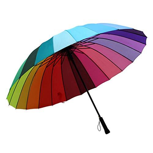 16-grad-strahl (YUMUYMEY Regenschirme - High Grade 16 - Bone Anti - Ultraviolet Creative Pool Umbrella (Farbe : Multicolor))