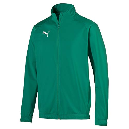 PUMA Herren Liga Sideline Poly Jacket Core Jacke, Pepper Green White, L