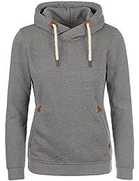DESIRES VickyHood Damen Kapuzenpullover Hoodie Sweatshirt mit Fleece-Innenfutter aus hochwertiger Baumwollmischung