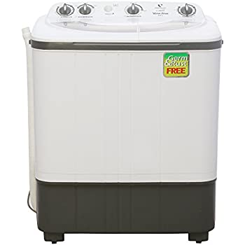 Videocon VS60A12 Top-loading Washing Machine (6 Kg, White and Grey)
