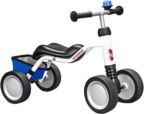 Puky Wutsch Kleinkinder Rutschfahrzeug Lern Laufrad Limited Edition weiß/blau